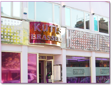 Kuti's Brasserie in  is today´s  Featured Restaurant